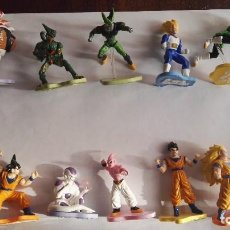 Figuras y Muñecos Manga: COLECCION COMPLETA FIGURA DRAGON BALL Z EVOLUTION COLLECTION MARCA DISCAPA BOLA DE DRAGON. Lote 117156071
