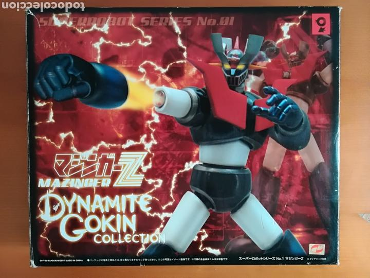 MAZINGER Z DYNAMITE GOKIN COLLECTION SUPER ROBOT SERIES NÚM. 01 - ANIME COMIC MANGA (Juguetes - Figuras de Acción - Manga y Anime)