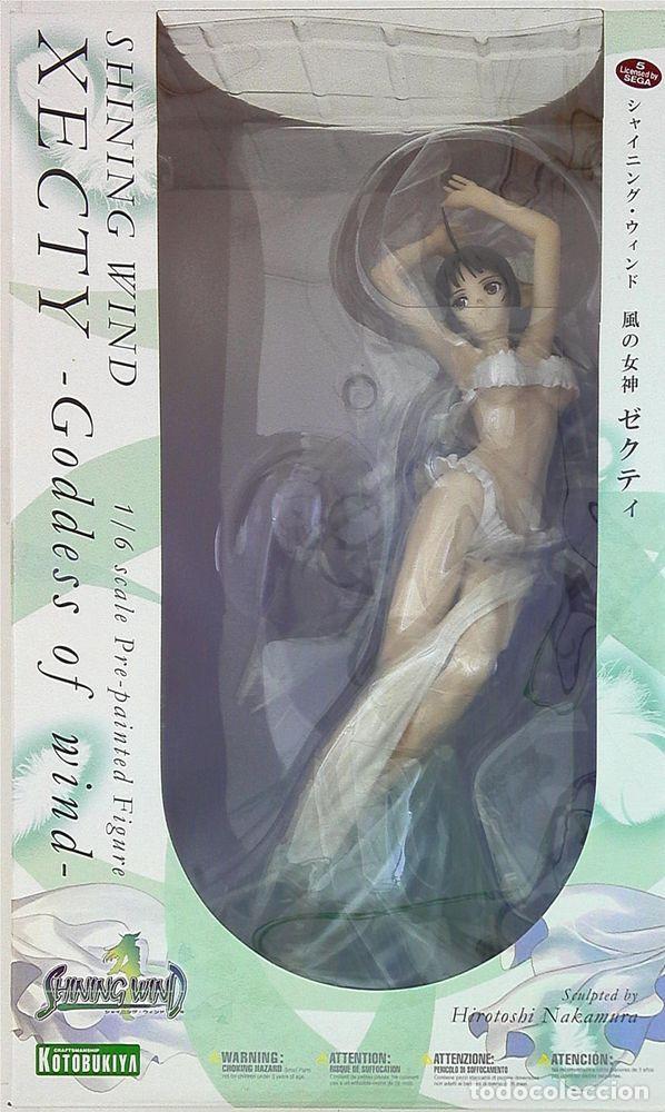 Figuras y Muñecos Manga: Shining Wind Xecty Goddess Of Wind 1/6 Pvc Figure Kotobukiya F/s 798525460026 - Foto 3 - 121248075