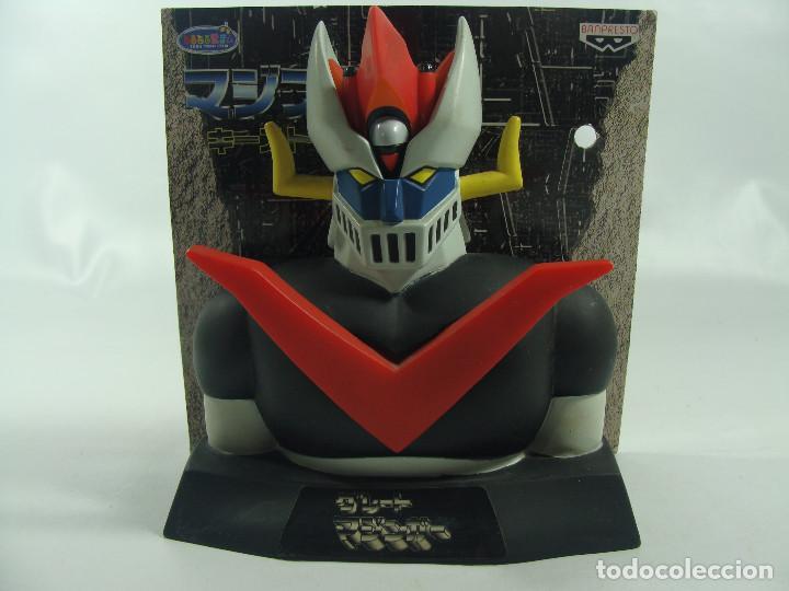 Figuras y Muñecos Manga: Guardallaves / Busto de Gran Mazinger - Key Stocker - Hecho por Banpresto en 1999 - Foto 6 - 121878343