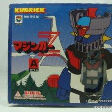 Figuras y Muñecos Manga: MAZINGER Z KUBRICK SET A - MAZINGER Z, GARADA K7 Y SAYAKA - ESTILO LEGO - HECHO POR MEDICOM EN 1999. Lote 121878687
