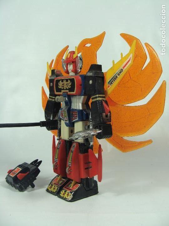 Figuras y Muñecos Manga: Tryder G7 / Trider G7 - Robot die-cast - Hecho por Clover en Japón en 1980 - Foto 2 - 121901379