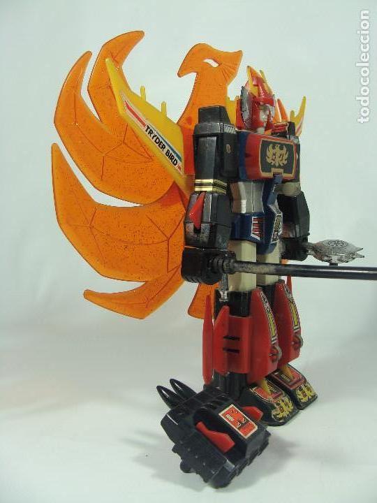 Figuras y Muñecos Manga: Tryder G7 / Trider G7 - Robot die-cast - Hecho por Clover en Japón en 1980 - Foto 4 - 121901379