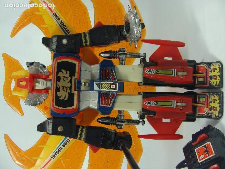 Figuras y Muñecos Manga: Tryder G7 / Trider G7 - Robot die-cast - Hecho por Clover en Japón en 1980 - Foto 6 - 121901379