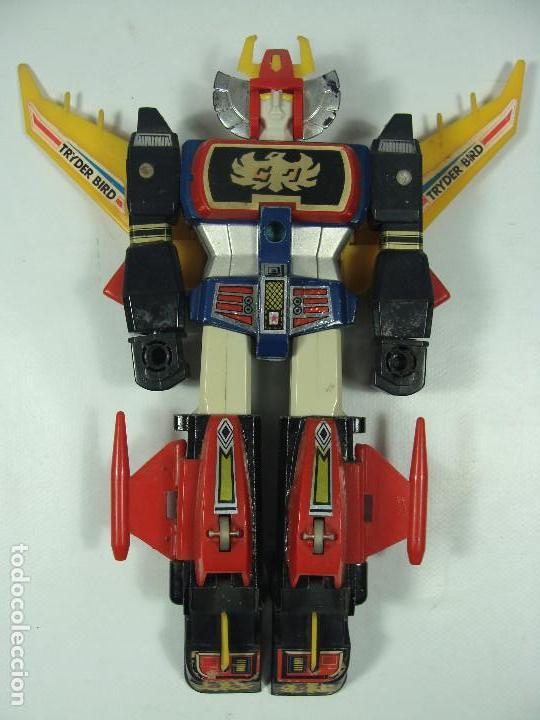 Figuras y Muñecos Manga: Tryder G7 / Trider G7 - Robot die-cast - Hecho por Clover en Japón en 1980 - Foto 7 - 121901379