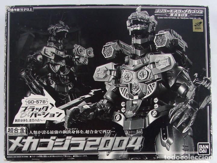 MECHA GODZILLA GD-57B SOUL OF CHOGOKIN EDICIÓN LIMITADA COLOR NEGRO BANDAI JAPON MUY RARA Y SIN USO (Juguetes - Figuras de Acción - Manga y Anime)