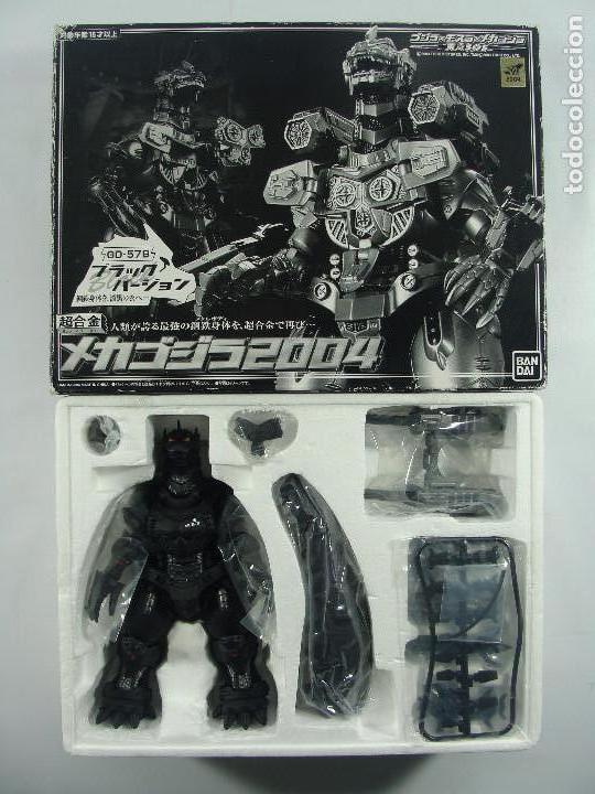 Figuras y Muñecos Manga: Mecha Godzilla GD-57B Soul of Chogokin Edición Limitada Color Negro Bandai Japon MUY RARA Y SIN USO - Foto 3 - 122359367