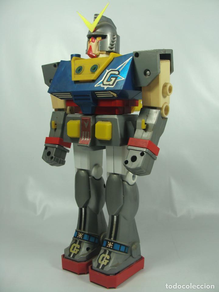 Figuras y Muñecos Manga: Gundam RX-78 Junior Machinder (Grande) Fabricado por Ceppi Ratti en Italia en 1979 - Pieza muy rara - Foto 2 - 122649087