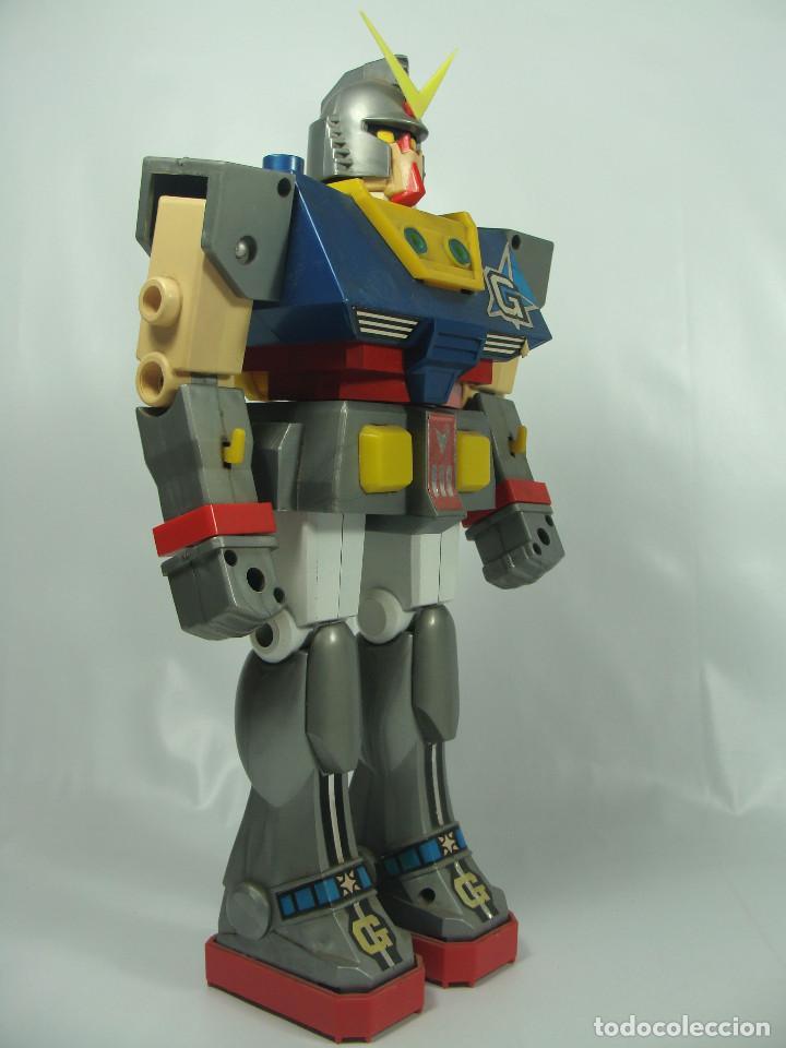 Figuras y Muñecos Manga: Gundam RX-78 Junior Machinder (Grande) Fabricado por Ceppi Ratti en Italia en 1979 - Pieza muy rara - Foto 8 - 122649087