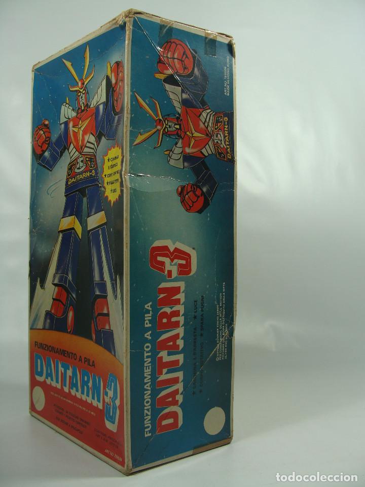 Figuras y Muñecos Manga: Daitarn 3 Junior Machinder (Grande) Fabricado por Al-Es en Hong Kong 1978 para el mercado italiano - Foto 4 - 122654575