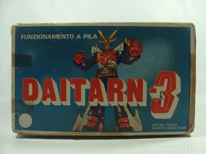 Figuras y Muñecos Manga: Daitarn 3 Junior Machinder (Grande) Fabricado por Al-Es en Hong Kong 1978 para el mercado italiano - Foto 6 - 122654575
