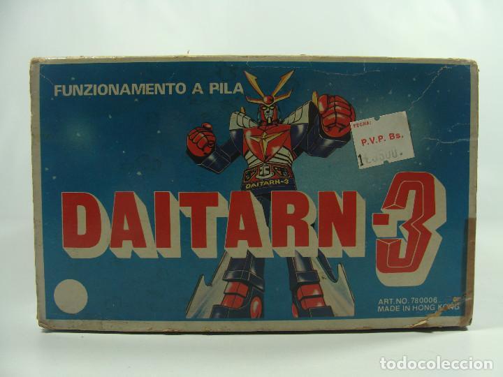 Figuras y Muñecos Manga: Daitarn 3 Junior Machinder (Grande) Fabricado por Al-Es en Hong Kong 1978 para el mercado italiano - Foto 7 - 122654575