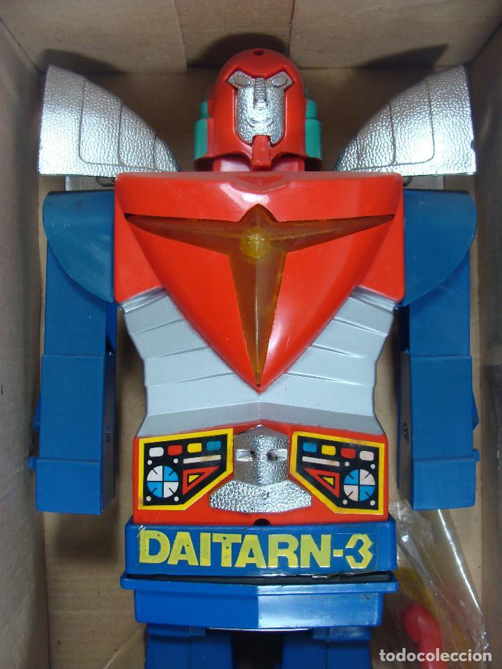 Figuras y Muñecos Manga: Daitarn 3 Junior Machinder (Grande) Fabricado por Al-Es en Hong Kong 1978 para el mercado italiano - Foto 9 - 122654575