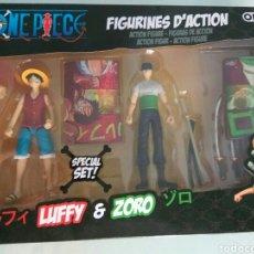 Figuras y Muñecos Manga: PACK FIGURAS LUFFY Y ZORO ONE PIECE. Lote 128494842
