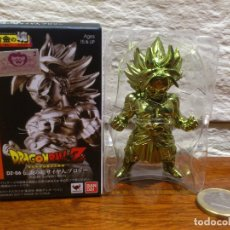 Figuras y Muñecos Manga: DRAGON BALL Z - BANDAI - DZ-06 - FIGURA - SUPER SAIYAN 2 BROLY - METAL - GOLD - COLOR ORO - NUEVO. Lote 121480343
