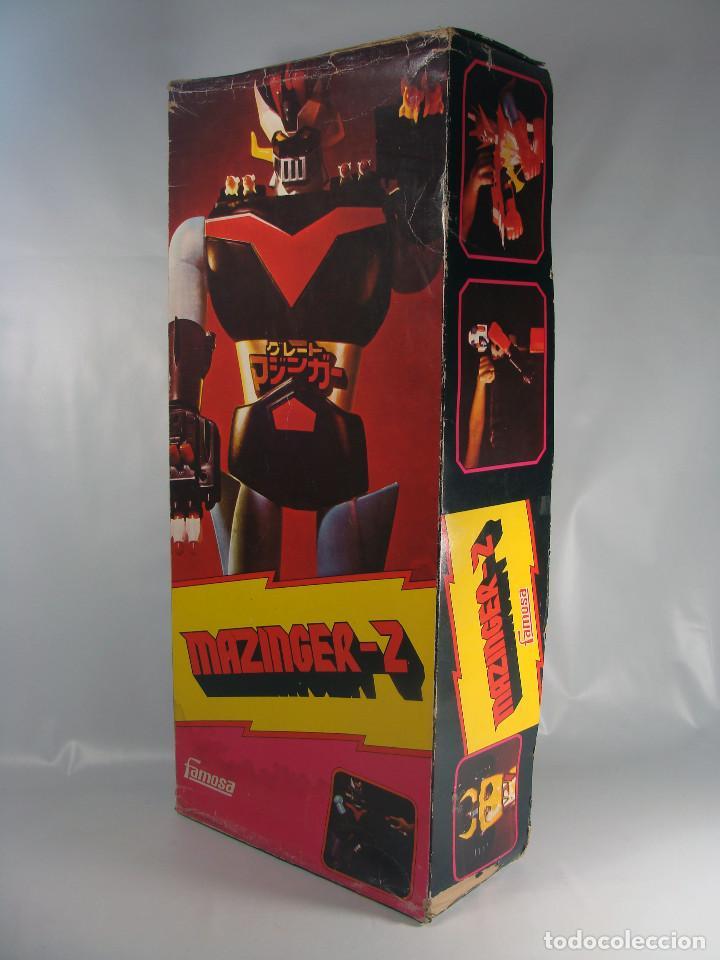 Figuras y Muñecos Manga: Daimos Dinamo Jumbo Machinder Fabricado por Famosa en Venezuela con moldes Nacoral - Mazinger - Foto 5 - 133244026