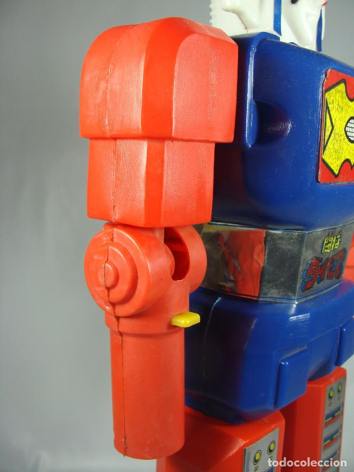 Figuras y Muñecos Manga: Daimos Dinamo Jumbo Machinder Fabricado por Famosa en Venezuela con moldes Nacoral - Mazinger - Foto 23 - 133244026