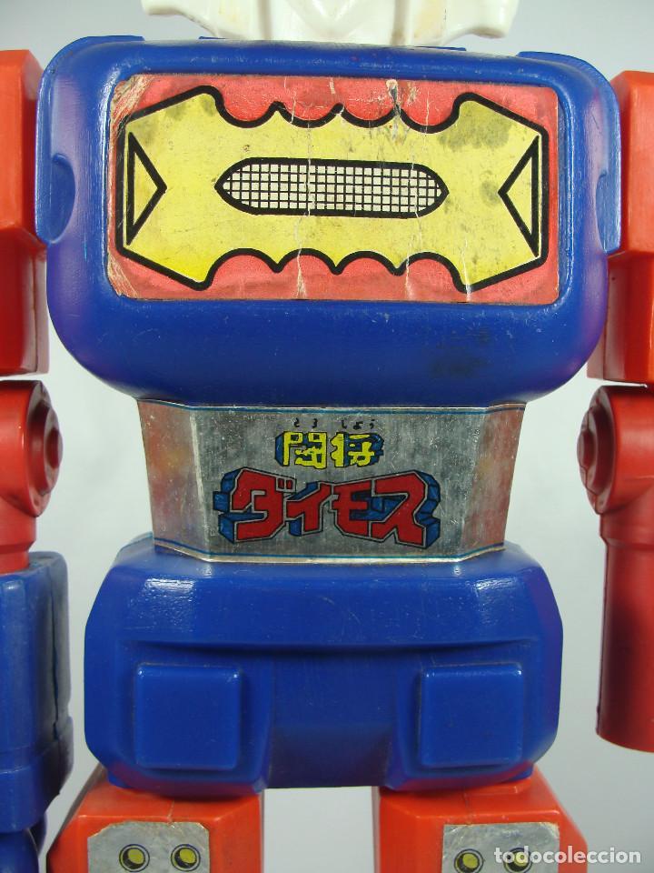Figuras y Muñecos Manga: Daimos Dinamo Jumbo Machinder Fabricado por Famosa en Venezuela con moldes Nacoral - Mazinger - Foto 10 - 133287826