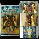 Figuras y Muñecos Manga: FIGURA DIGIMON: DIGIVOLVING WARGREYMON / AGUMON LIMITED EDITION BANDAI (PRECINTADO). Lote 134763626