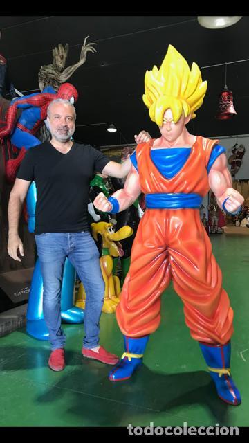 SON GOKU DRAGON BALL FIGURA 2,00 METROS DE ALTO TAMAÑO REAL LIFE SIZE FIGURE (Juguetes - Figuras de Acción - Manga y Anime)