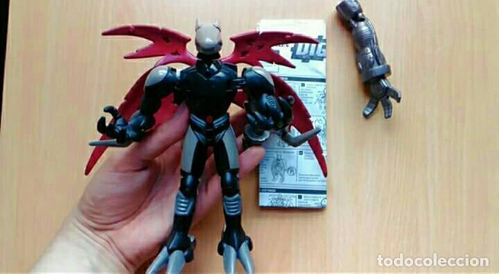 DIGIMON: FIGURA TRANSFORMABLE DIGIVOLVING CYBERDRAMON / JUSTIMON 18CM (BANDAI) JUGUETE MUÑECO (Juguetes - Figuras de Acción - Manga y Anime)