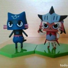 Figuras y Muñecos Manga: MONSTER HUNTER: FIGURA GATO FELYNE AIROU FIGURE BUILDER CAPCOM / BANDAI. Lote 136334726
