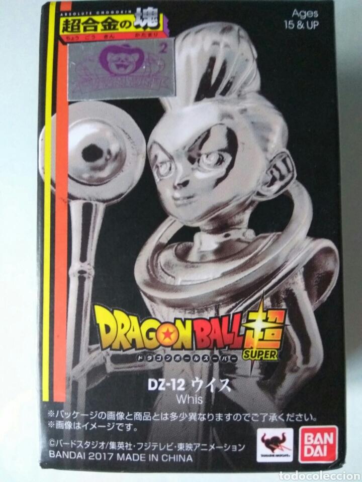 Figuras y Muñecos Manga: Figura metal Tamashii Whis Dragon ball Super nueva - Foto 2 - 137262772