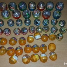 Figuras y Muñecos Manga: COLECCIÓN 59 FIGURAS DRAGON BALL GASHAPON VARIAS SERIES + SOBRE ROLLERS + 5 SOBRES GLIDERS. Lote 135341698