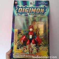 Figuras y Muñecos Manga: FIGURA DIGIVOLVING FLAMEDRAMON LIMITED EDITION / DIGIMON 02 / MUÑECO BANDAI. Lote 140043626