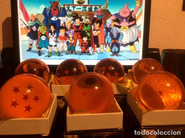 7 BOLAS DE DRAGON TAMAÑO REAL 7,5 CM - BOLA DE DRAC - DRAGON BALL - BOLA DE DRAGON - BANDAI (Juguetes - Figuras de Acción - Manga y Anime)