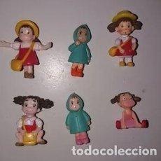 Figuras y Muñecos Manga: SET DE 6 MINI FIGURAS NIÑAS TOTORO. Lote 147441878