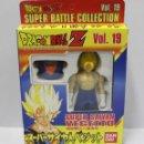 Figuras y Muñecos Manga: DRAGON BALL Z SUPER BATTLE COLLECTION - Nº 19 SUPER SAIYAN VEGETTO - BANDAI - NUEVO. Lote 160921408