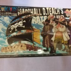 Figuras y Muñecos Manga: ONE PIECE GRAND SHIP COLLECTION MARSHALL D. TECH'S - BANDAI JAPAN 2015 MAQUETA BARCO FIGURA NUEVA !. Lote 149863342