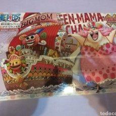 Figuras y Muñecos Manga: ONE PIECE GRAND SHIP COLLECTION QUEEN MAMA CHANTER - BANDAI JAPAN 2017 MAQUETA BARCO FIGURA NUEVA !. Lote 149866466