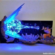 Figuras y Muñecos Manga: SON GOKU KAMEHAMEHA DRAGON BALL Z ACTION FIGURE LED NIGHT LIGHT DBZ NUEVO. Lote 150168058