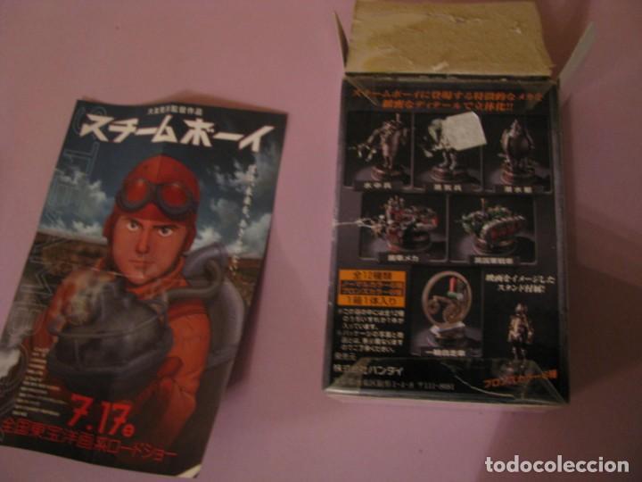 Figuras y Muñecos Manga: FIGURA DE STEAM BOY. BANDAI 2004. - Foto 4 - 151016334