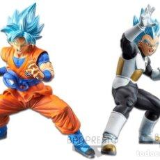 Figuras y Muñecos Manga: DBZ, SON GOKU Y VEGETA (HEROES 2018) (NUEVAS). Lote 147970342
