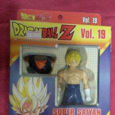 Figuras y Muñecos Manga: DRAGON BALL Z. SUPER BATTLE. VOL 19. VEGETA. SUPER SAIYAN. BANDAI. EN SU CAJA ORIGINAL. Lote 151417510
