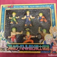 Figuras y Muñecos Manga: CAJA CON 6 FIGURAS DE DRAGON BALL Z. BANDAI. . Lote 162348454