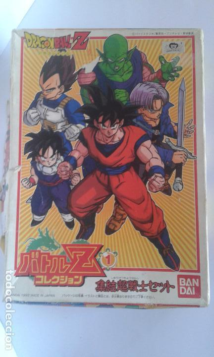 Figuras y Muñecos Manga: Dragon Ball Z, caja Model Kit Set nº 1 (Bandai, 1992) más 8 figuras sets 1 y 2 - Foto 1 - 154763418