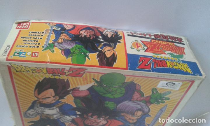 Figuras y Muñecos Manga: Dragon Ball Z, caja Model Kit Set nº 1 (Bandai, 1992) más 8 figuras sets 1 y 2 - Foto 5 - 154763418
