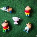 Figuras y Muñecos Manga: LOTE DE 5 FIGURAS DE SHIN CHAN DE GIOCCI PREZIOSSI. Lote 160644276