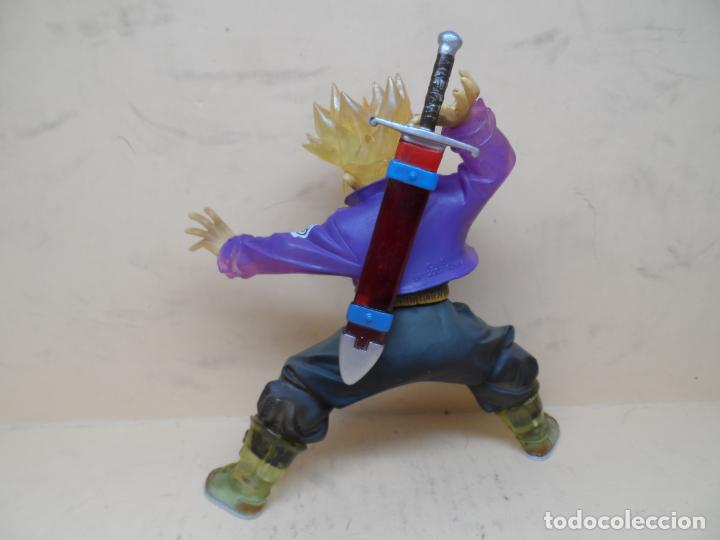 Figuras y Muñecos Manga: FIGURA DRAGON BALL Z TRUNKS ACTION 2007 BANPRESTO 20CM - Foto 3 - 164171914