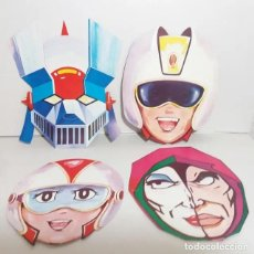 Figuras y Muñecos Manga: GRAN LOTE CARETAS MAZINGER Z AÑOS 70 ¡OPORTUNIDAD!. Lote 164628970