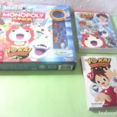 Figuras y Muñecos Manga: YO KAI WATCH LOTE MONOPOLY MANGA Y TEMPORADA 1 EPISODIOS 1 A 13 DVD. Lote 164685510