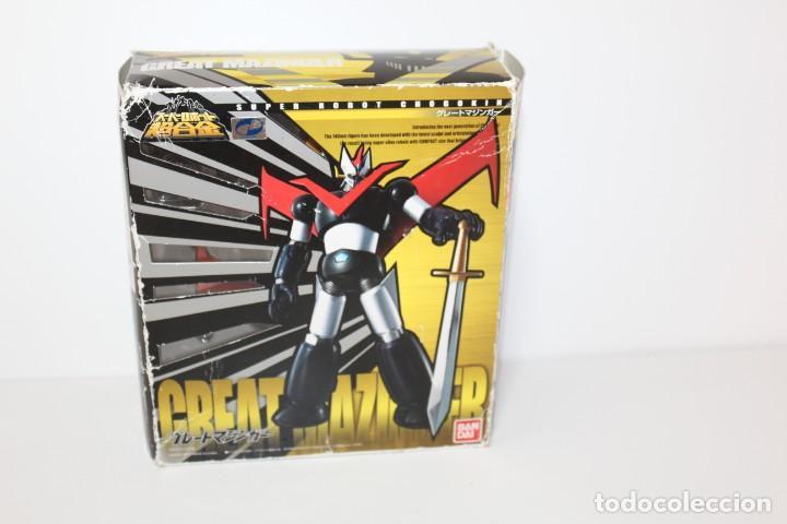MAZINGER Z - SUPER ROBOT CHOGOKIN DE BANDAI (Juguetes - Figuras de Acción - Manga y Anime)