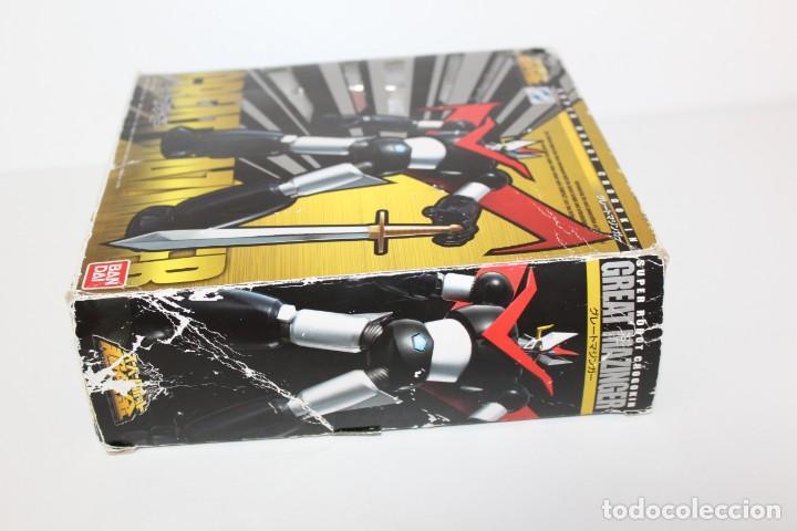 Figuras y Muñecos Manga: MAZINGER Z - SUPER ROBOT CHOGOKIN DE BANDAI - Foto 2 - 164807278