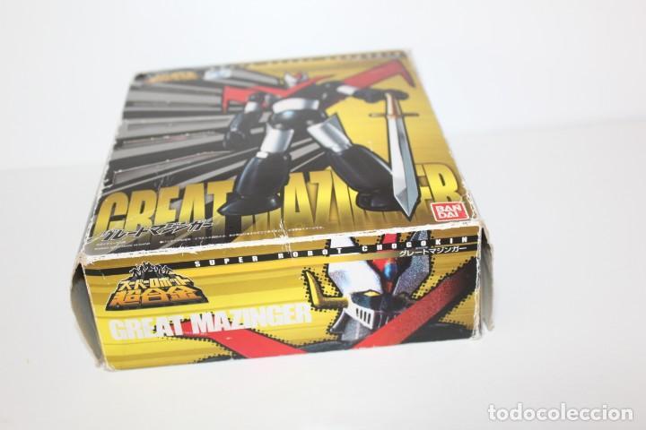 Figuras y Muñecos Manga: MAZINGER Z - SUPER ROBOT CHOGOKIN DE BANDAI - Foto 5 - 164807278