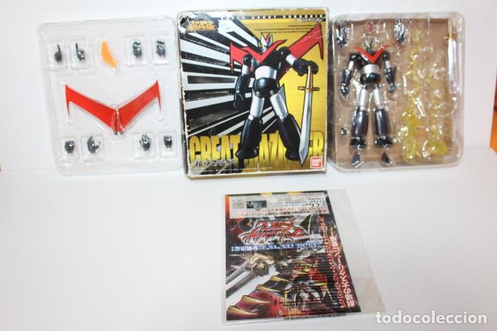 Figuras y Muñecos Manga: MAZINGER Z - SUPER ROBOT CHOGOKIN DE BANDAI - Foto 7 - 164807278