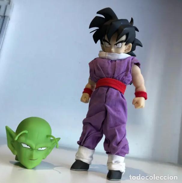 Figuras y Muñecos Manga: Dragon Ball Z Son Gohan + Piccolo head 1/6 -Medicom - Foto 4 - 165054598